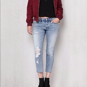 PACSUN | Dylan Ripped Girlfriend Jeans